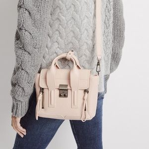 3.1 phillip lim pashli mini satchel light pink